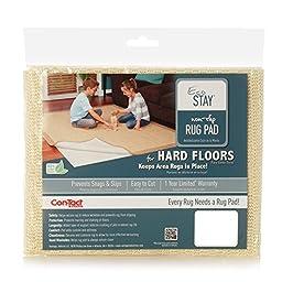 Con-Tact Brand Eco-Stay Non-Slip Rug Pad, 9\' x 12\'