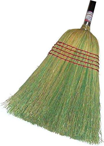 HUB City Industries 28-C  Janitor 100% Corn Broom, 1-1/8'' x 42'' Handle