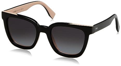 7fb977363bcb7 Fendi Colour Flash Square Sunglasses in Black Pink FF 0121 S MG1 51 ...