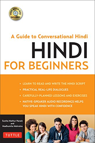 Hindi for Beginners: A Guide to Conversational Hindi (Audio Disc Included) by TUTTLE