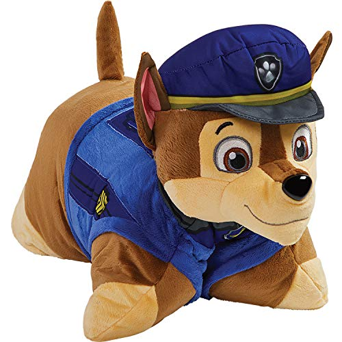 Pillow Pets Nickelodeon Paw Patrol Sleeptime Lites - Chase Plush Night Light