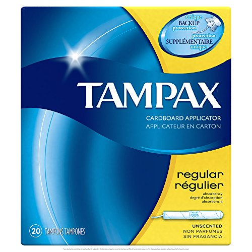 Tampax Regular Flushable 20 ct by Tampax (Image #9)