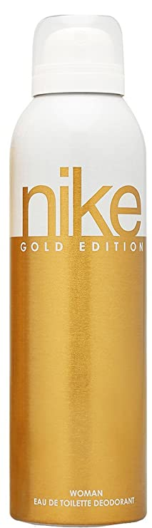 Nike Gold Deodorant for Women, 200ml Deodorants & Antiperspirants at amazon