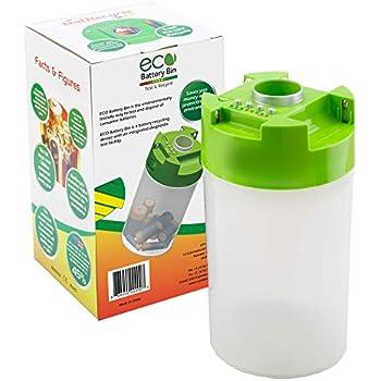 Amazon.com: ECO Battery Bin- Test & Recycle Batteries AAA