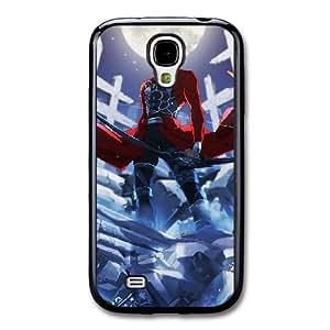 Fate Stay Night I7X8SJ6S Caso funda Samsung Galaxy S4 Caso funda Negro