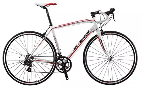 50cm Sundeal R7 700c Road Bike 6061 Alloy Frame Shimano 2 x 7s MSRP $499 NEW