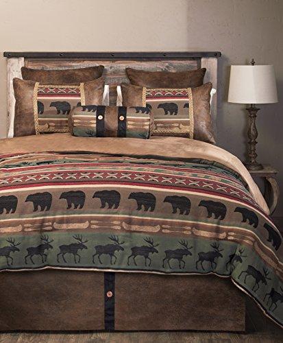 - Carstens Backwoods 5 Piece Bedding Set, Queen