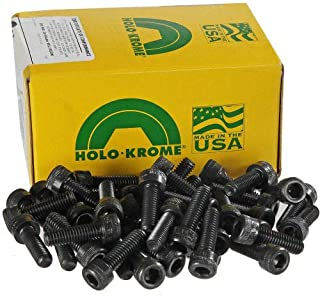 product image for M3 x 0.5 x 6mm Socket Cap Screw - Steel - Black Oxide - UNC - Pkg of 100 - USA - Holo-Krome 76008