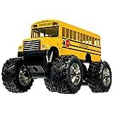 Off Road Die-cast Pullback Monster School Bus