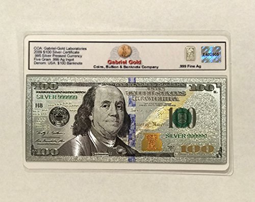 (Silver Certificate $100 Collectible Banknote)