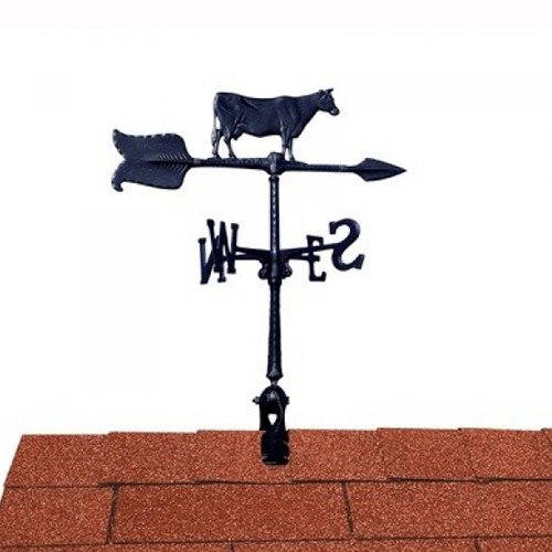 Whitehall Products Cow Accent Weathervane, 24-Inch, ()
