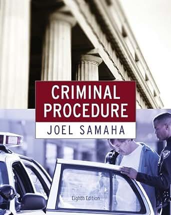 Bundle: criminal procedure, 8th + criminal justice media library.