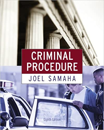 Amazon. Com: criminal procedure ebook: joel samaha: kindle store.