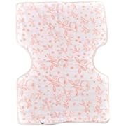 Little Unicorn Cotton Muslin Burp Cloth - Garden Rose