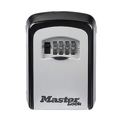 2183e7801da5 MASTER LOCK Caja fuerte para llaves [Mediana] [Montaje mural] - 5401EURD -