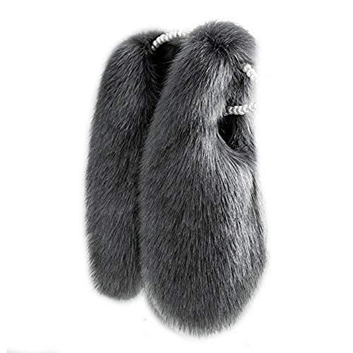 - benetia Toddler Baby Girls Vest Faux Fur 2t