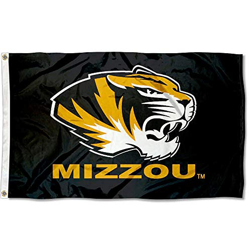 Missouri Tigers University - Missouri Tigers Mizzou University Large College Flag
