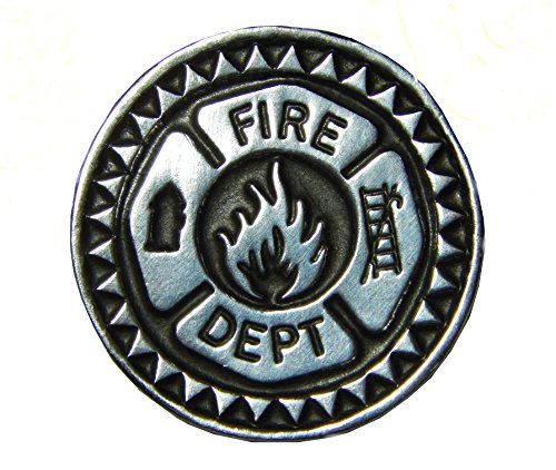 Set of 3 Firefighter Prayer Pocket Tokens 1-1/8