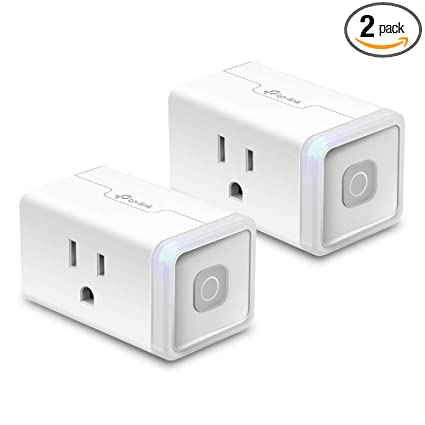 49807ab08c4b6 Kasa Smart WiFi Plug Lite by TP-Link (2-Pack) -12 Amp   Reliable ...