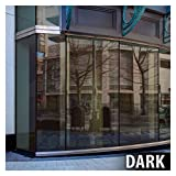 BDF PRBR Window Film Premium Color High Heat Control and Daytime Privacy Bronze (36in X 24ft)