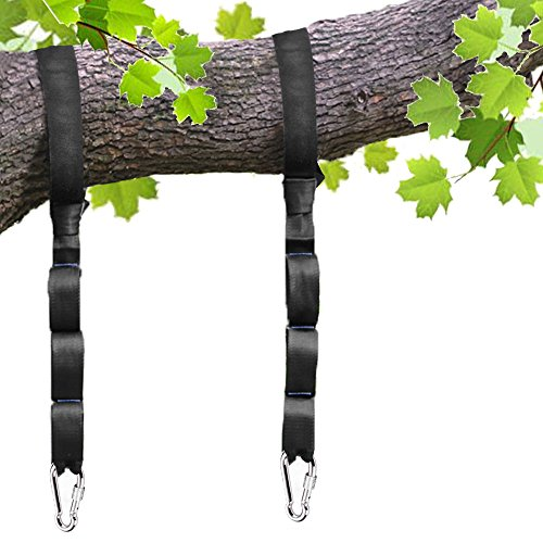 New pys Tree Swing Straps Kit-Two Adjustable (20loops Total ) Straps Hold 2000lbs Two Heavy Duty Car...