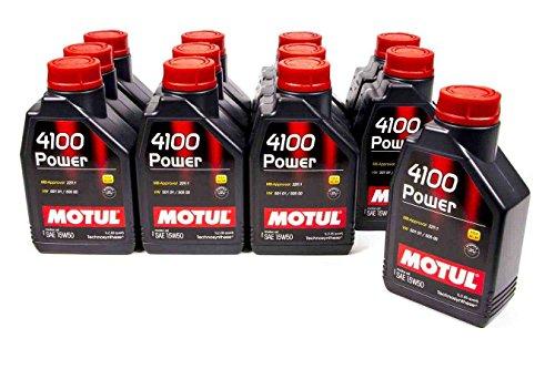 Motul 102773 4100 Power 15W50 Oil, 12 l, 1 Pack