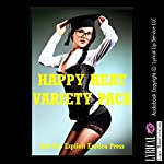 Happy Heat Variety Pack: Five Explicit Erotica Stories | Stacy Reinhardt,Sheena Stone,Sarah Blitz,Sandra Strike,Samantha Sampson
