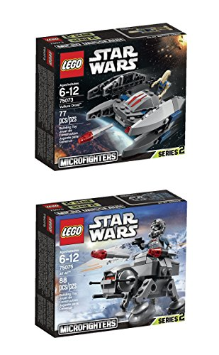 Disney Star Wars LEGO Vulture Droid toy and Star Wars AT-AT Microfighters to - Pilot At Wars At Star