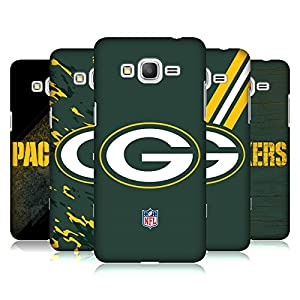 Official NFL Green Bay Packers Logo Hard Back Case for Samsung Galaxy Grand Prime