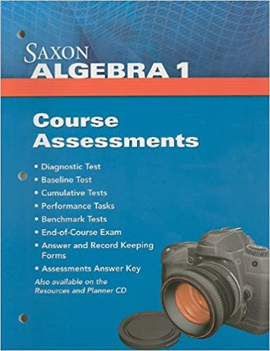 Amazon saxon algebra 1 assessments 9781602774841 saxon saxon algebra 1 assessments 1st edition fandeluxe Choice Image
