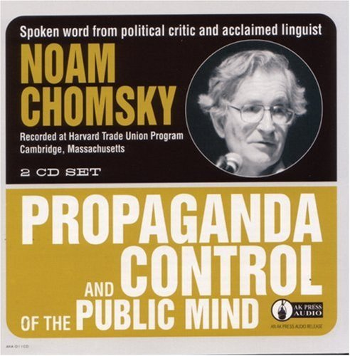 Image for Propaganda & Control of the Public Mind
