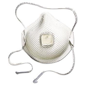 Moldex 507-2700N95 2700 Series Handystrap N95 Particulate Respirators, Half-Facepiece, Medium/Large, White (Pack of 10)