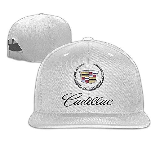 Ogbcom Cadillac Logo Snapback Adjustable Flat Baseball Cap/Hat ()