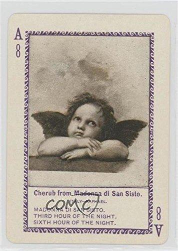 Cherub from Madonna di San Sisto (Trading Card) 1897 Cincinnati Famous Paintings Green Back - [Base] #A8