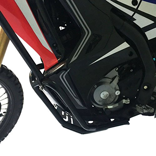(Inpreda Skid Plate + Engine Guard Frame Compatible with Honda CRF250 Rally (2017-2019) )