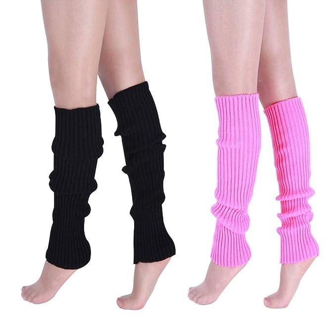 Amazon.com: Vocni - Calentadores de piernas largas para ...