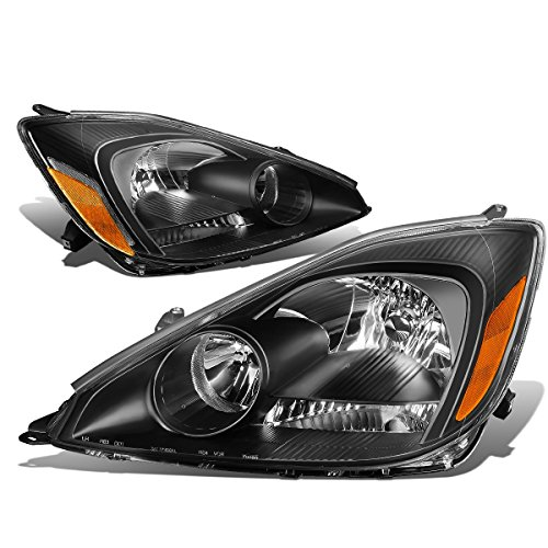 DNA MOTORING HL-OH-103-BK-AM Headlight Assembly Driver And Passenger Side