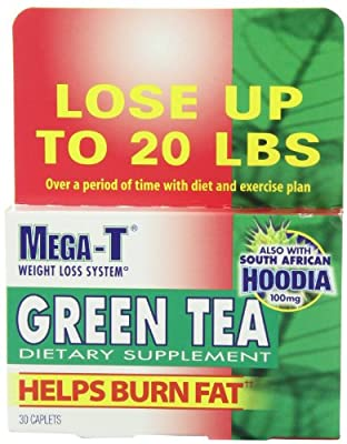 Mega-t Green Tea Dietary Supplement, Caplets