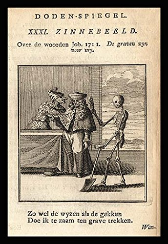 Buyenlarge Skeleton, Nobleman and Jester - Gallery Wrapped 44