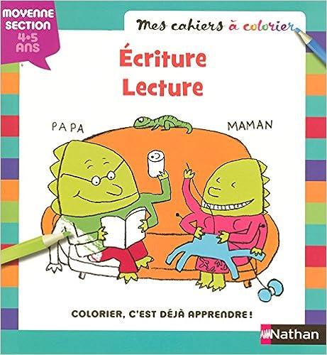 MES CAHIERS A COLORIER ECRITUR pdf ebook