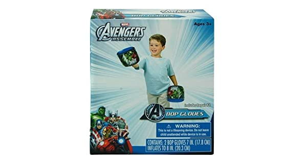 Amazon.com: Marvel Avengers Inflatable Bop Guantes, Conjunto ...