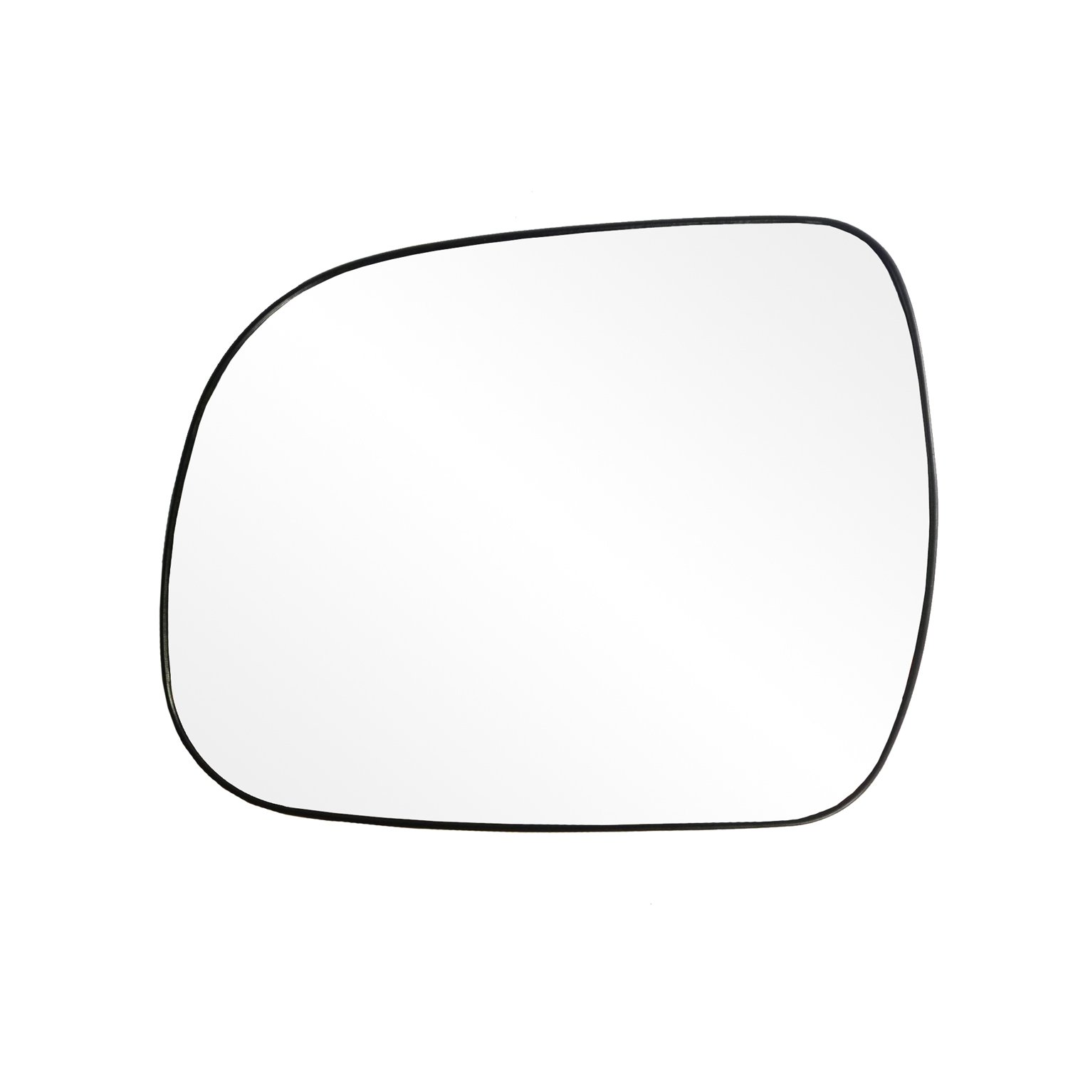 Fit System 88224 Toyota Highlander/Tacoma Left Side Power Replacement Mirror Glass with Backing Plate