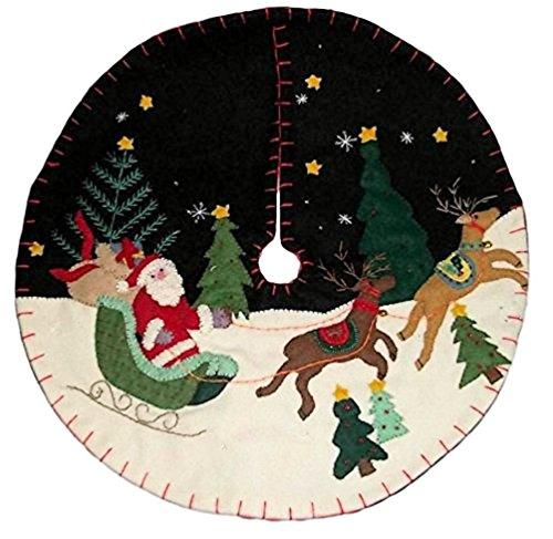 Santa Tree Sleigh - 5
