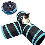 Geartist PCT01 Pet Cat Tunnel Maze Toy, 3 Way...