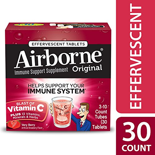Airborne Very Berry Effervescent Tablets, 30 Count Photo #5