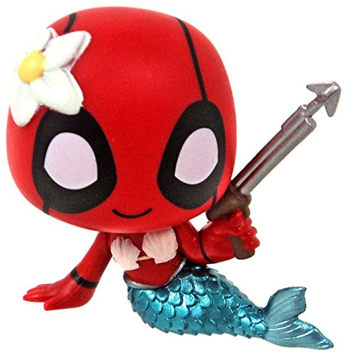 Funko Mystery Minis Vinyl Figure - Deadpool S1 - MERMAID (2 inch)