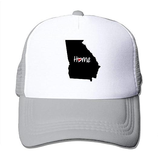 a0fce4d57e4 Love Georgia Home State Baseball Hat Mesh Trucker Cap Snapback Hat Outdoor  Sports Cap at Amazon Men s Clothing store