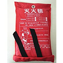 Forfar 1m Sealed Fire Blanket Home Kitchen WorkPlace Safety Quick Release Fighting Protection Fire Extinguishers Caravan Camping Tent Boat