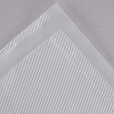 VacPak-It 6 x 10 Pint Size Full Mesh External Vacuum Packaging Pouches Bags 3 Mil 50//Pack