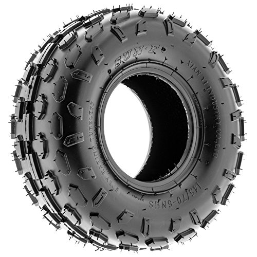 Set of 2 SunF A015 Sport-Racing ATV/UTV Tires 145/70-6, 6-PR by SunF (Image #9)